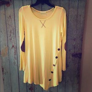 Boutique Yellow Tunic